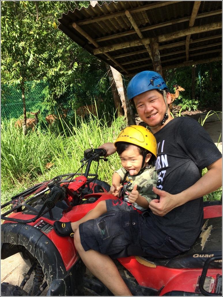Bukit Gambang ATV Safari experience