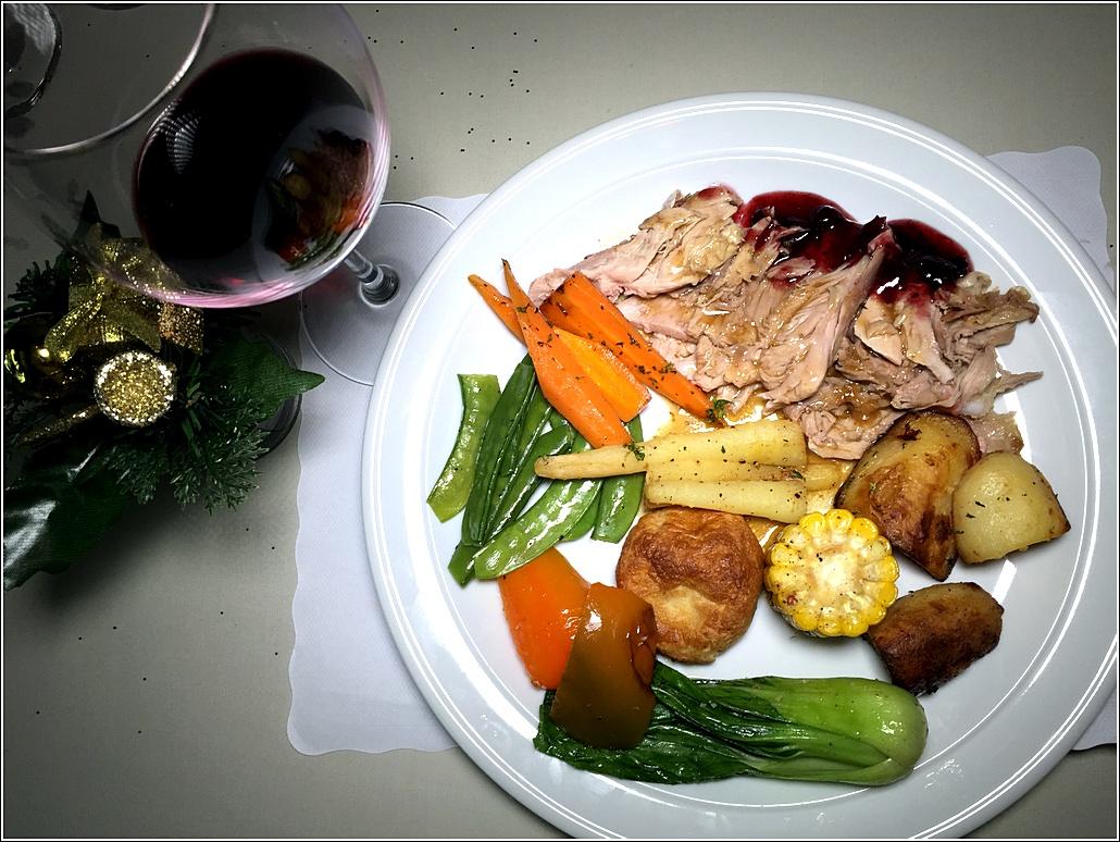 THYME Turkey dish