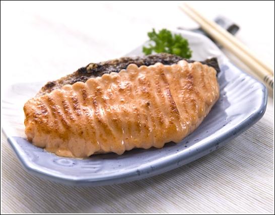 05 Salmon Mentaiyaki
