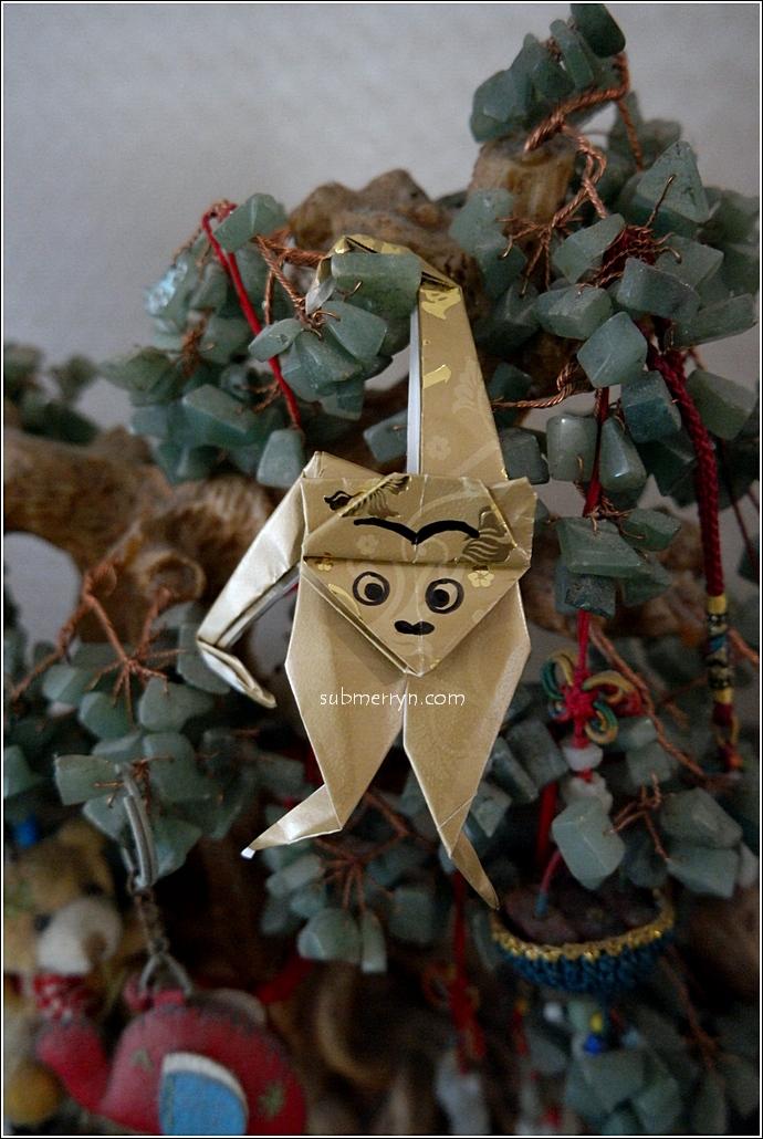 CNY Angpow Monkey Origami