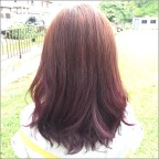 Number 76 hair color dual tone