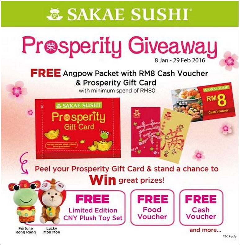 Sakae Sushi CNY Promotion