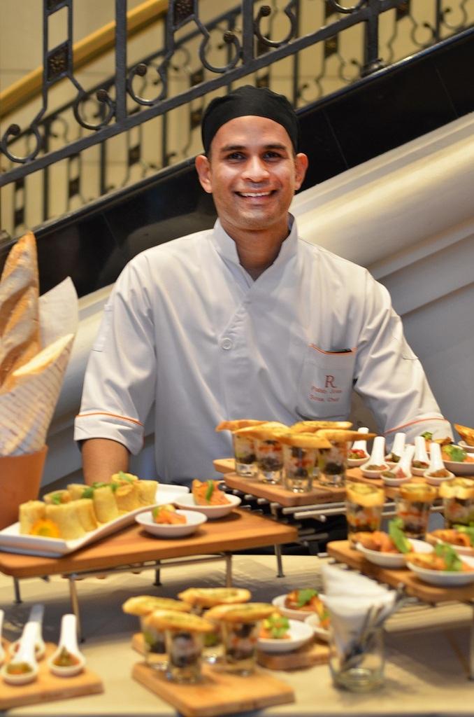 RKLH Sous Chef Pablo Crespo