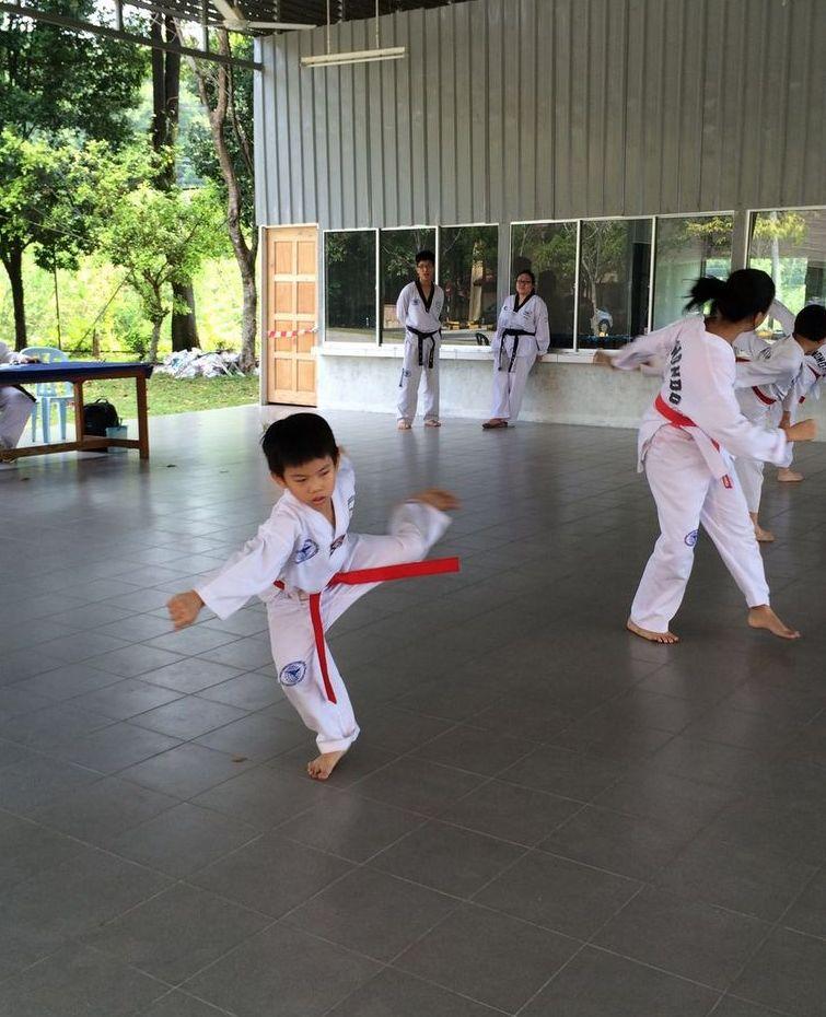 taekwondo taegeuk 8