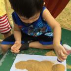 DIY Sand art for children 1