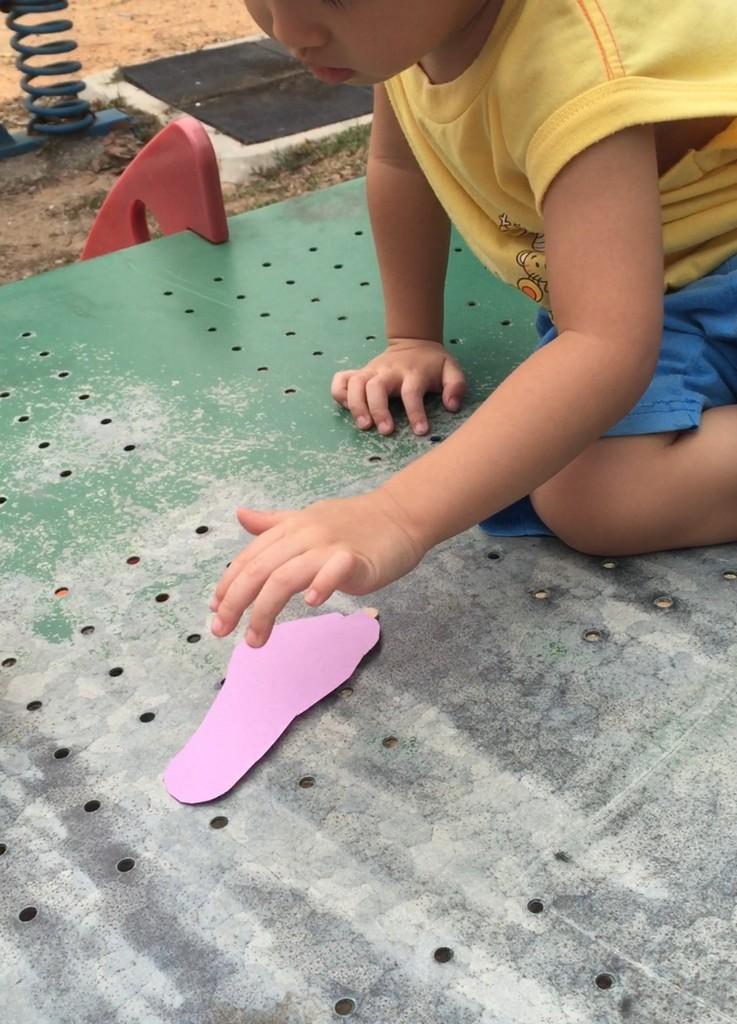 Footprint Popsicle Art 2