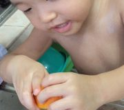 How to make fresh orange juice for toddlers