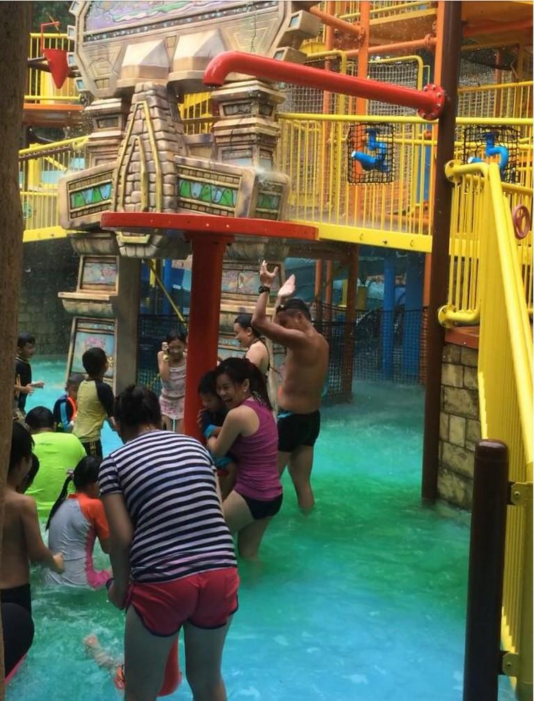 Nickelodeon Green Slime at Spongebob Adventure 1