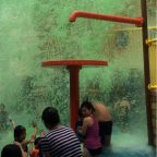 Nickelodeon Green Slime at Spongebob Adventure
