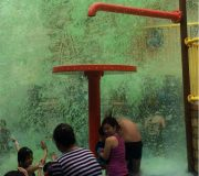 Nickelodeon Green Slime at Spongebob Adventure