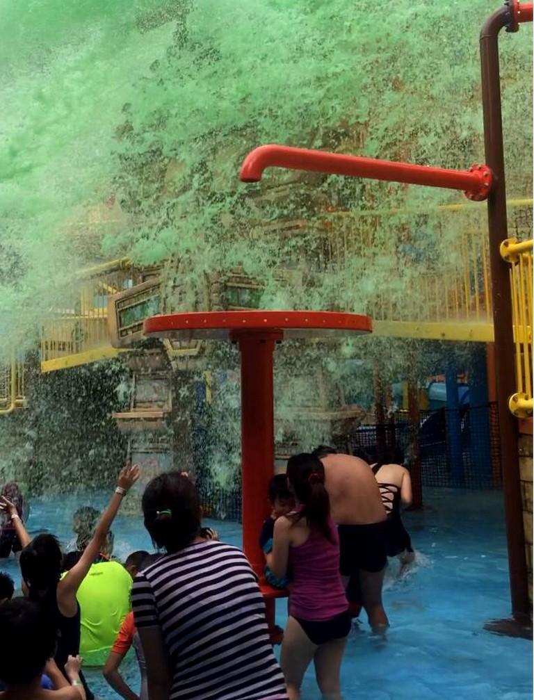 Sunway Lagoon Nickelodeon Great Slime Deluge