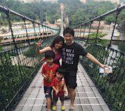 Sunway Lagoon Suspended Bridge