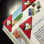 Angry bird bookmark diy 17