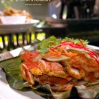 Balinese grilled tumeric fish fillet