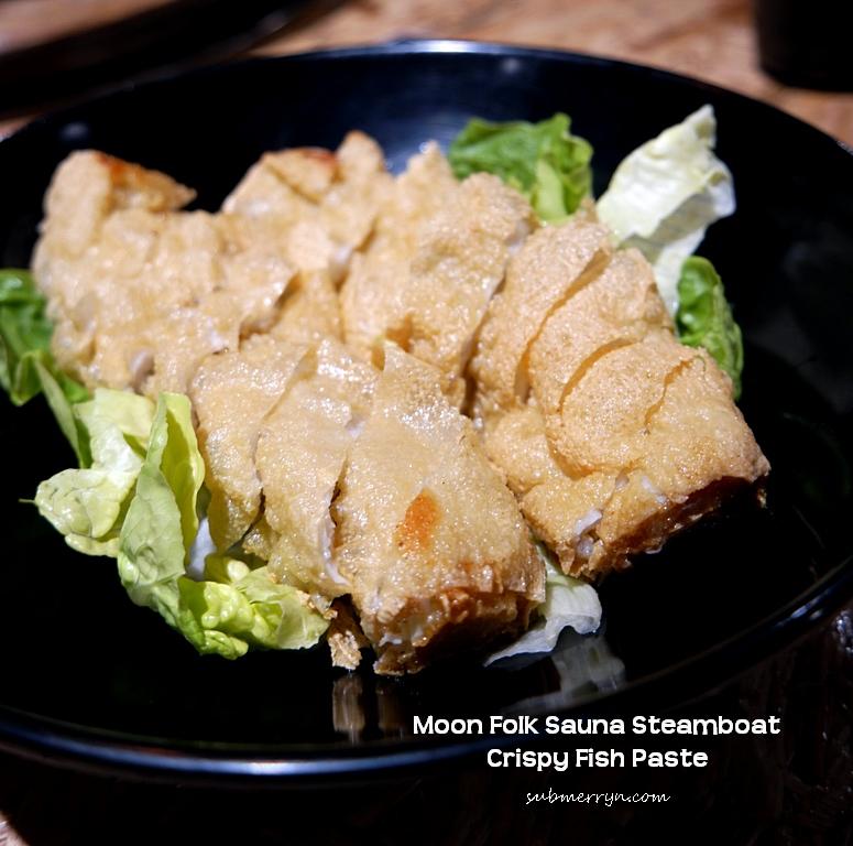 Crispy fish paste