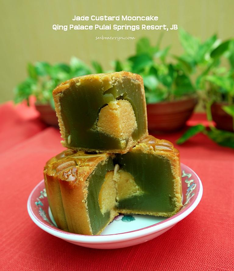 Jade Custard mooncake