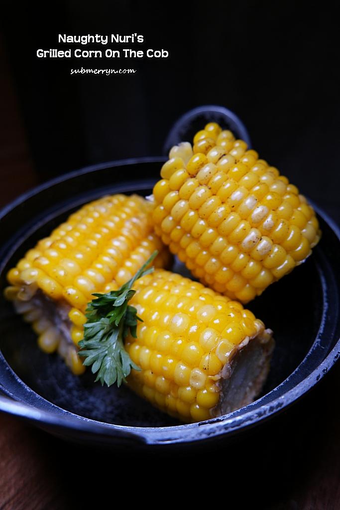 Naughty Nuri Grilled Corn on the cob