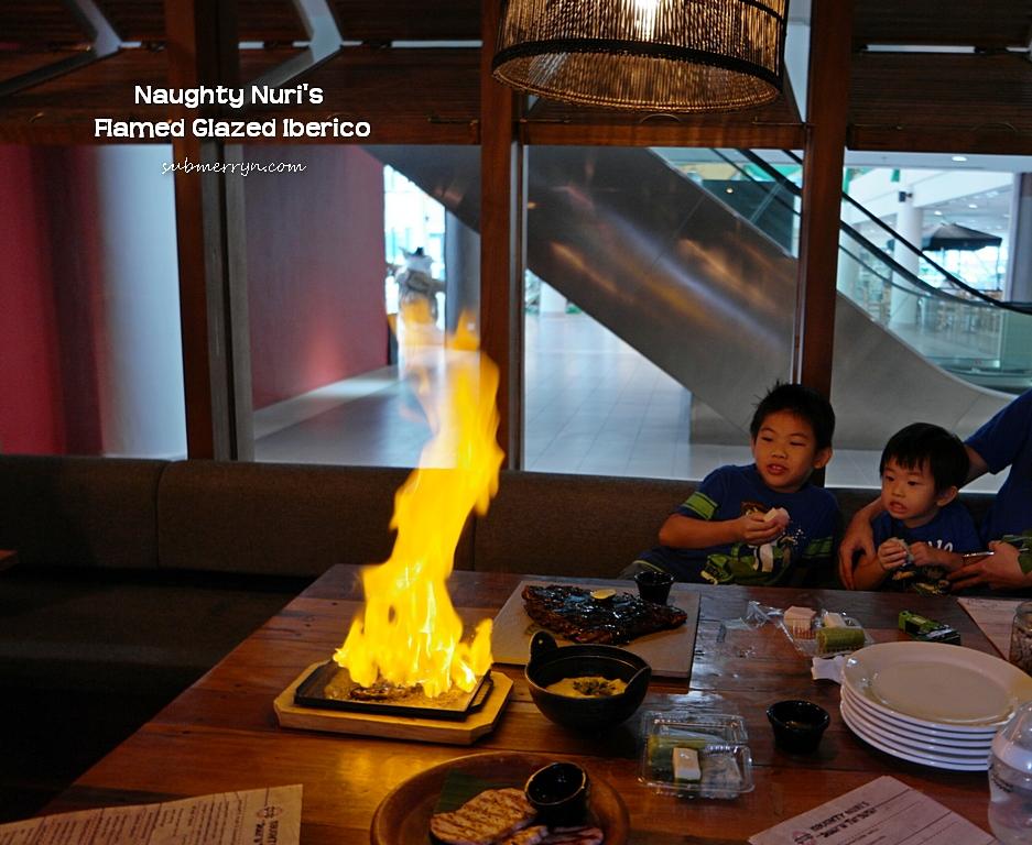 Naughty Nuri KL Life Centre Flamed Glazed Iberico 2