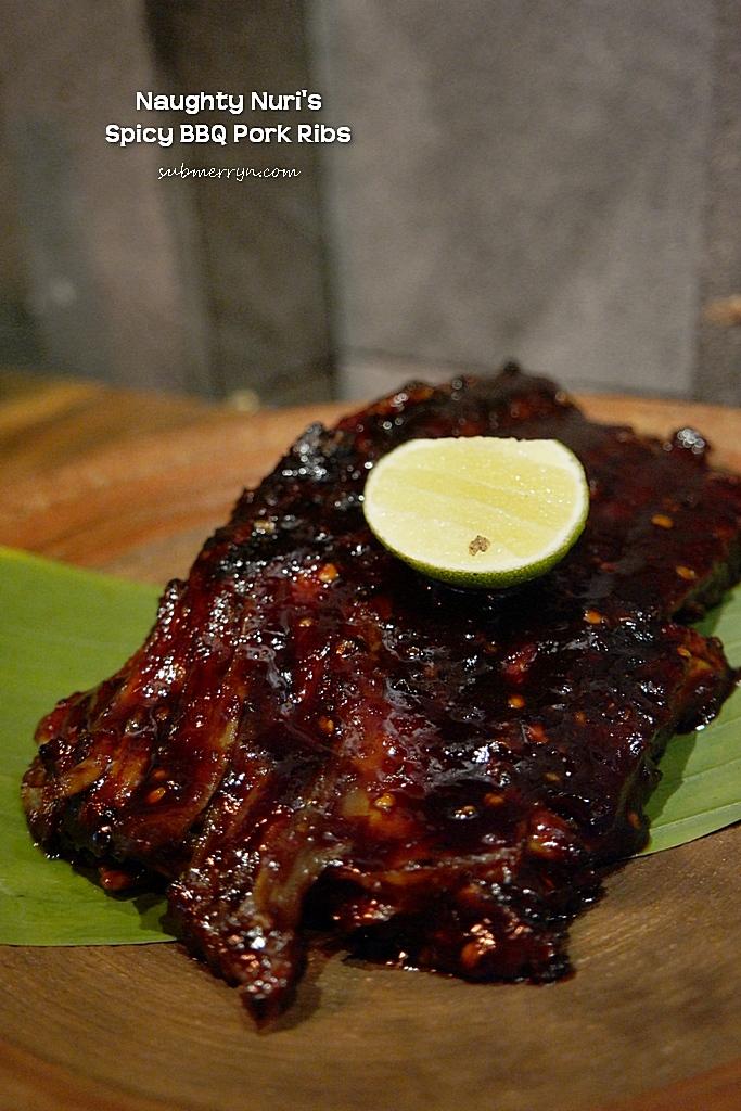 Naughty Nuri Spicy BBQ Pork Ribs