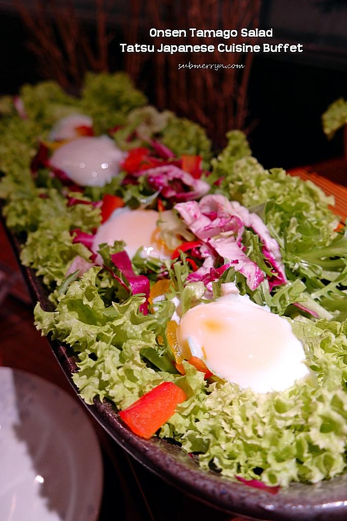 Onsen tamago salad