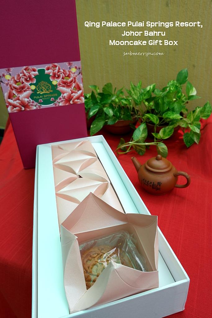 Qing Palace Pulai Springs Resort Mooncake gift box