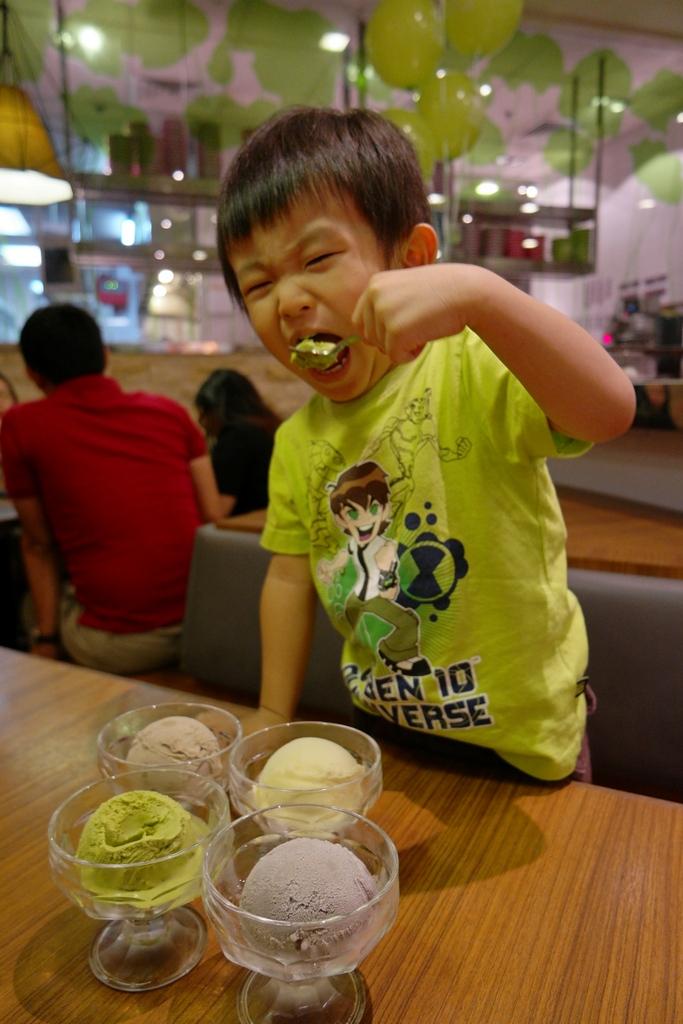 Sakae sushi ice cream