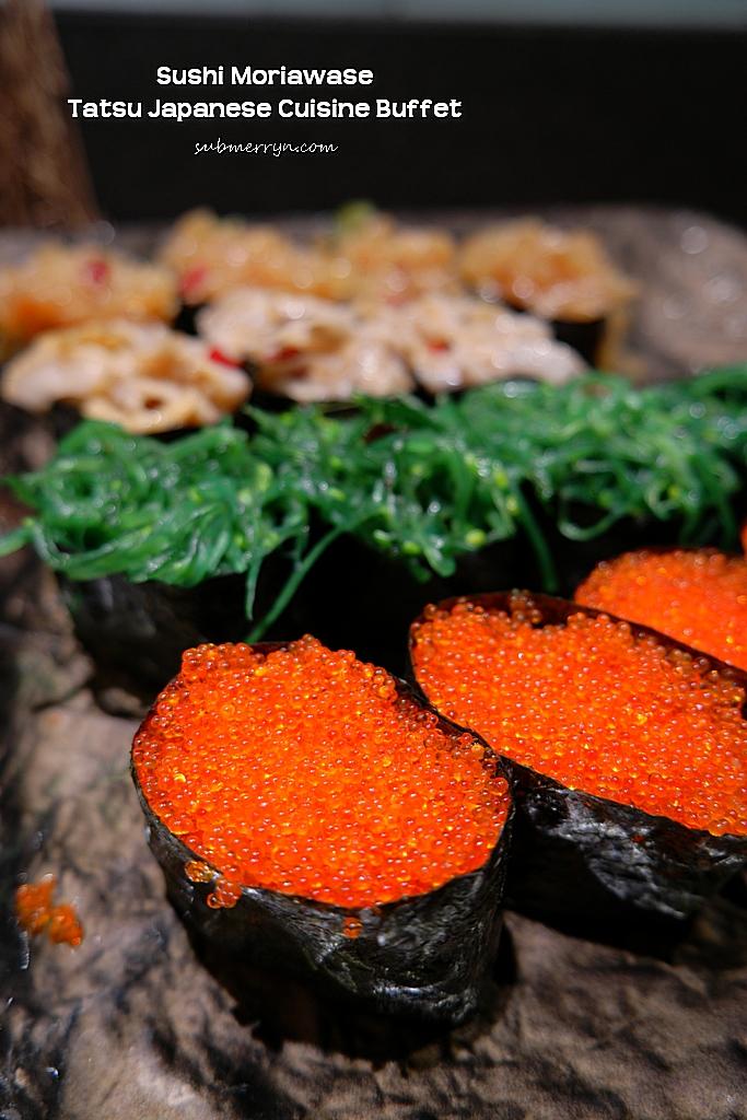 Sushi moriawase Tatsu Intercon