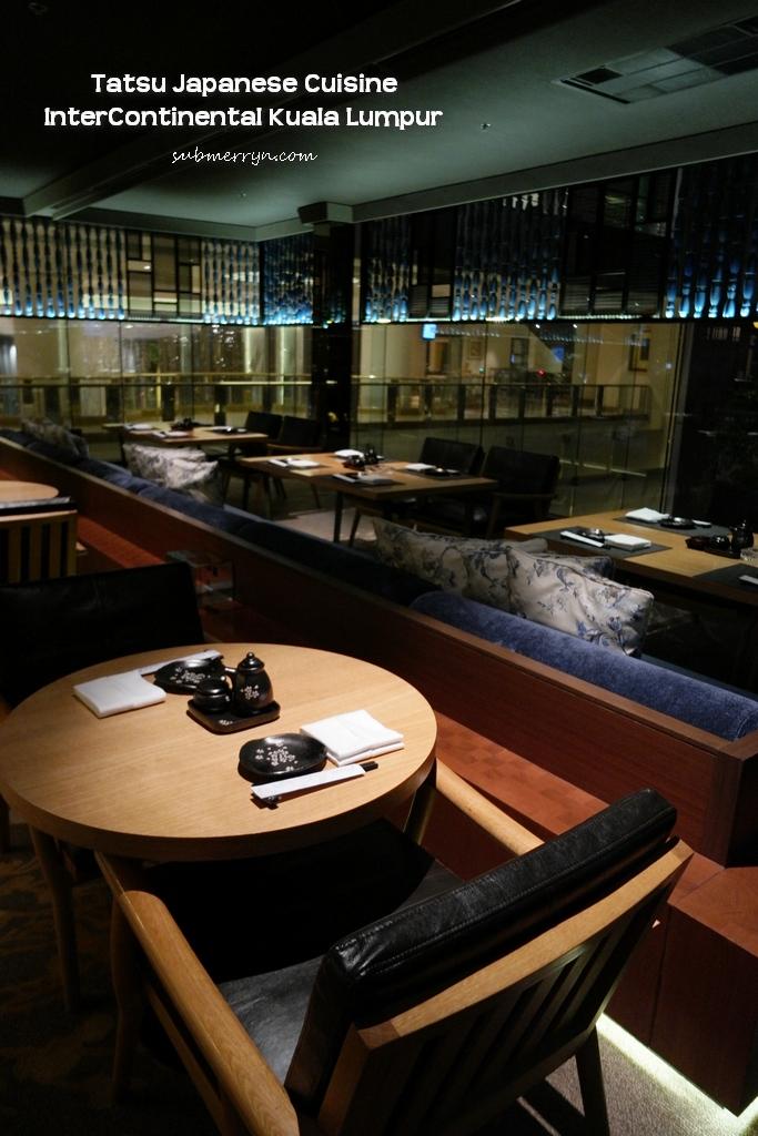 Tatsu Japanese Cuisine Intercontinental KL
