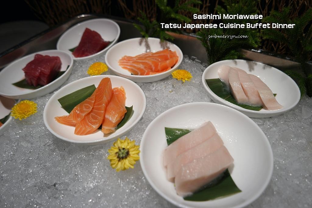 Tatsu Japanese cuisine buffet sashimi