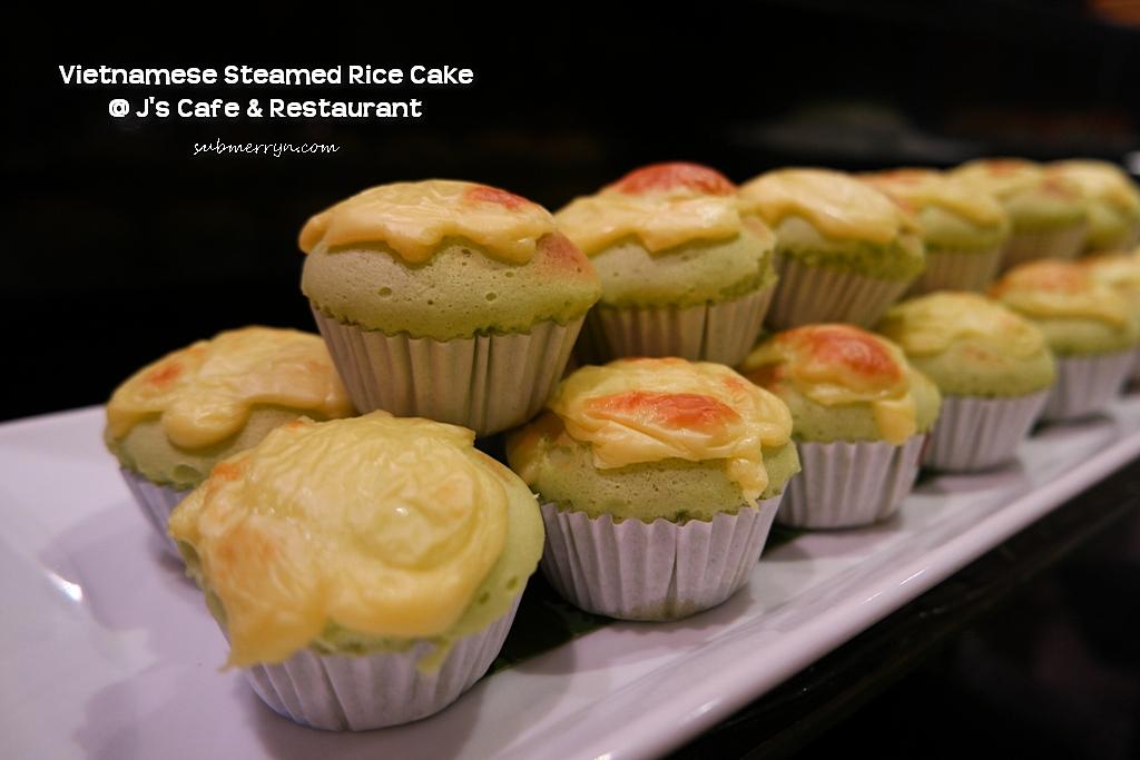 Vietnamese steamed rice cake