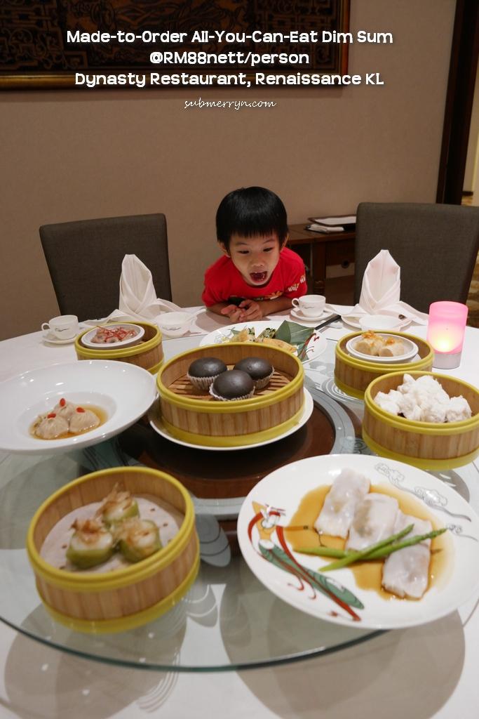 all you can eat dim sum dynasty restaurant renaissance kl