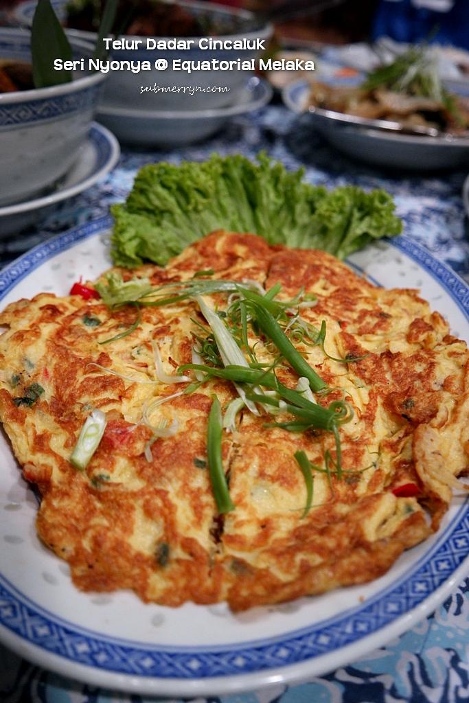 cincaluk omelette