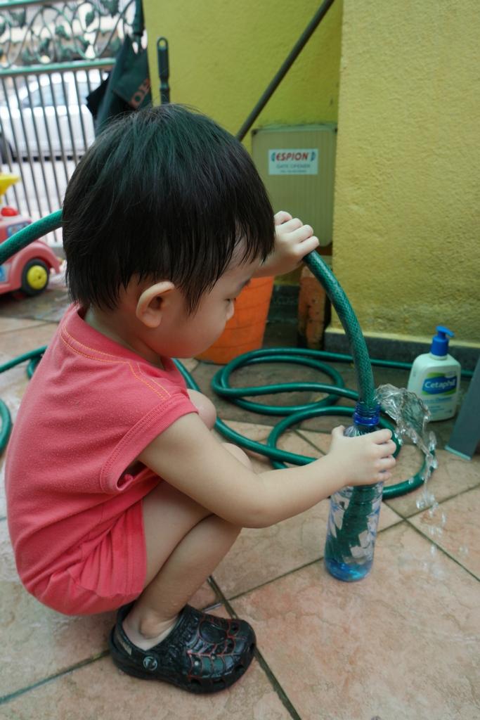 DIY Self watering planter 3