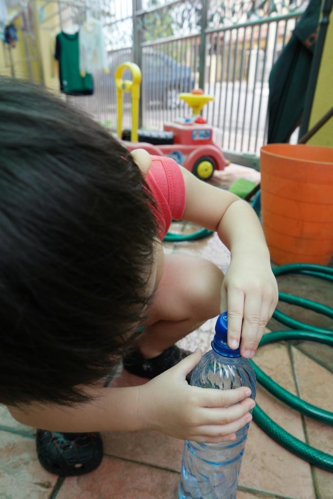 DIY Self watering planter 4
