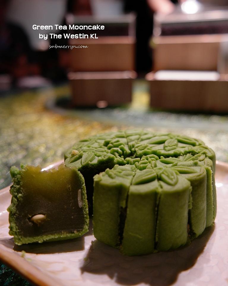 Green Tea Mooncake