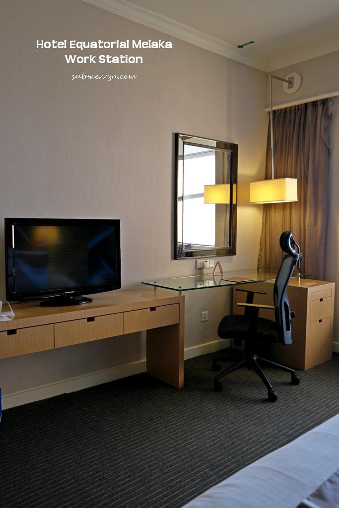 Hotel Equatorial Melaka work station