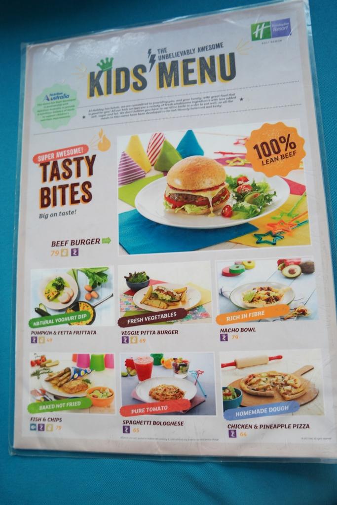 kids-menu-holiday-inn-resort-bali-benoa-1