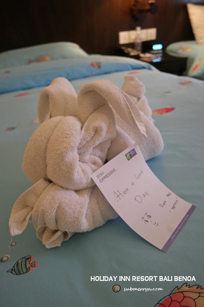 rabbit-towel