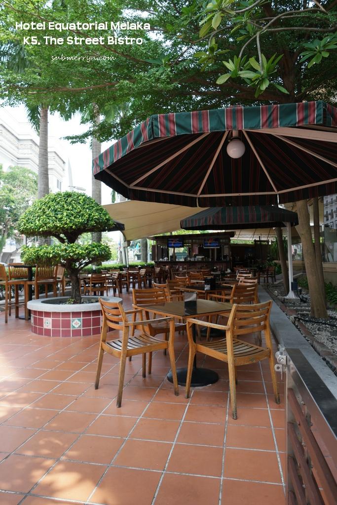 k5 street bistro EQ Melaka