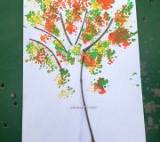 cotton-bud-tree-art
