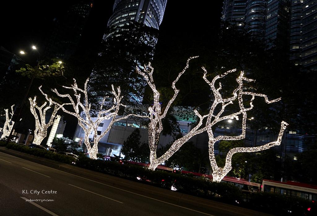 Fairy Lights Trees In Kl City Centre